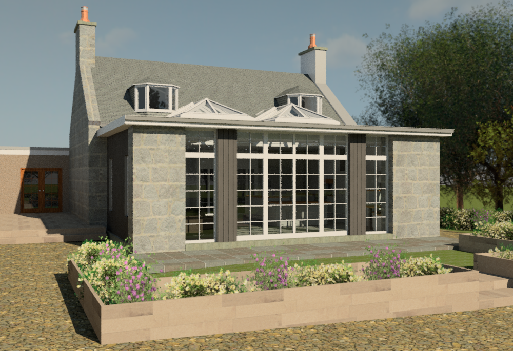 House Extension - Harehill House, Bridge of Don, Aberdeen