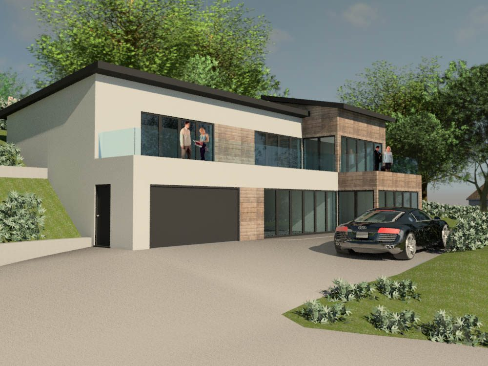 New Build House, Inchgarth Road