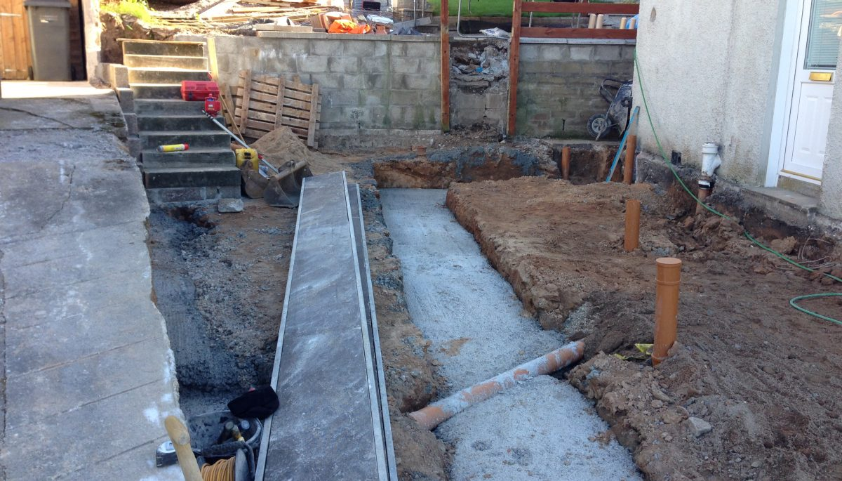 Drainage and foundations