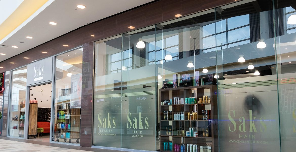 Saks Hair & Beauty Aberdeen. McGregor Garrow Architects
