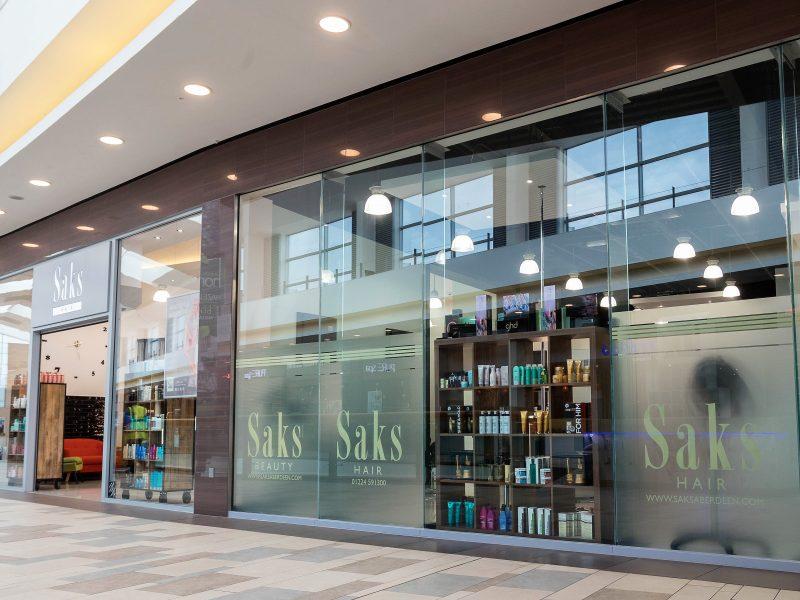Saks Hair & Beauty Aberdeen. McGregor Garrow Architects