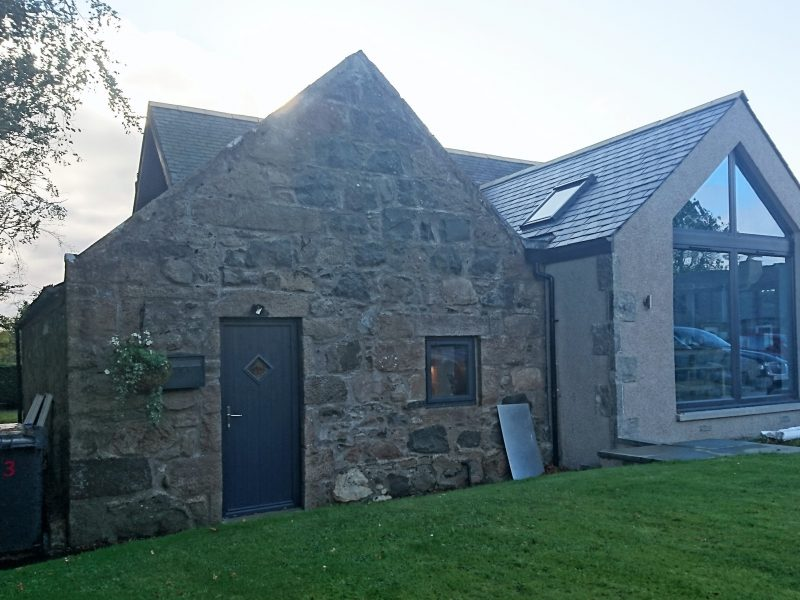 Mill extension, Aberdeenshire